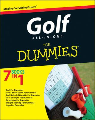 Golf All-in-One for Dummies By Consumer Dummies (COR)